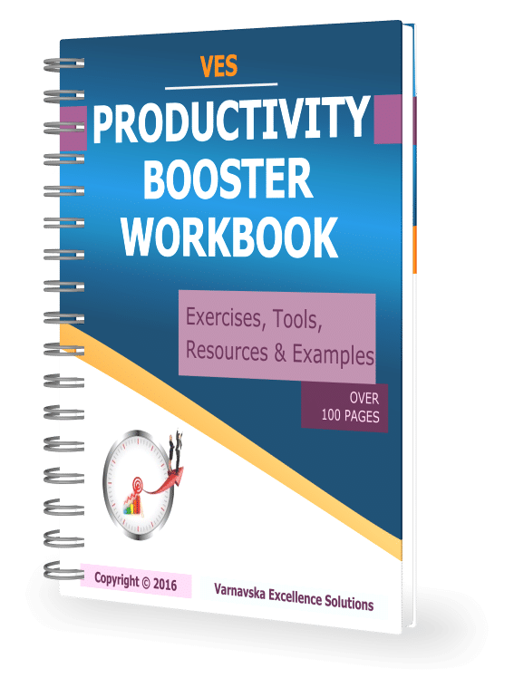 PRODUCTIVITY BOOSTER WORKBOOK