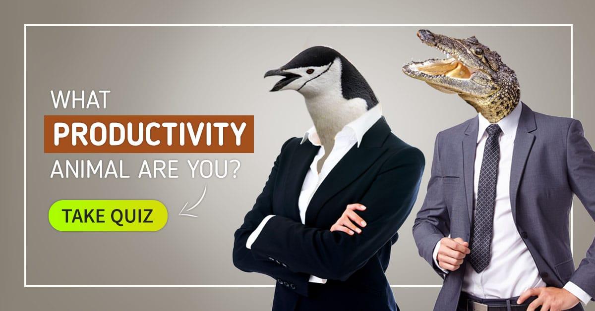 Productivity Animal Quiz